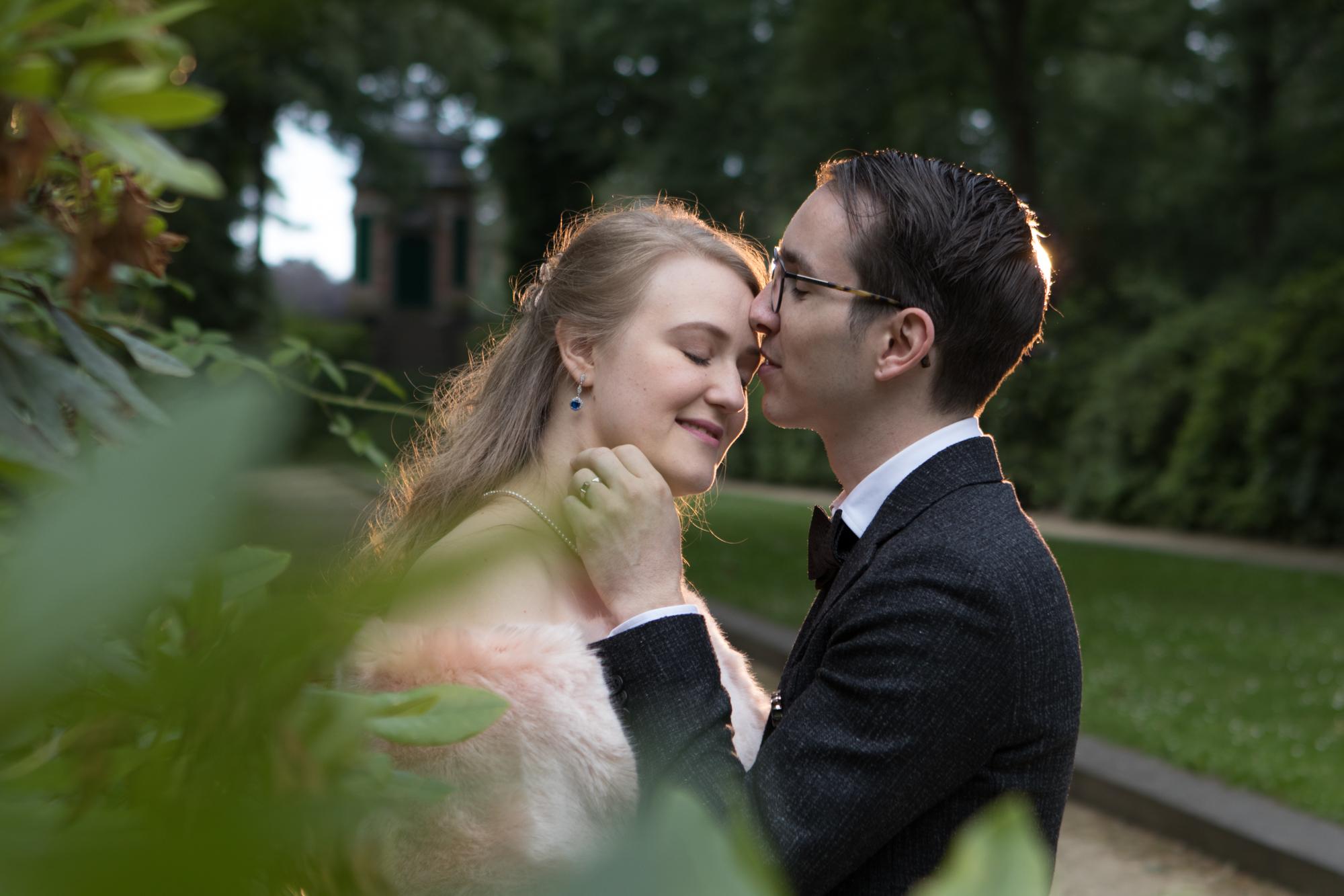 Kus bruidsreportage Karolien en Kenny