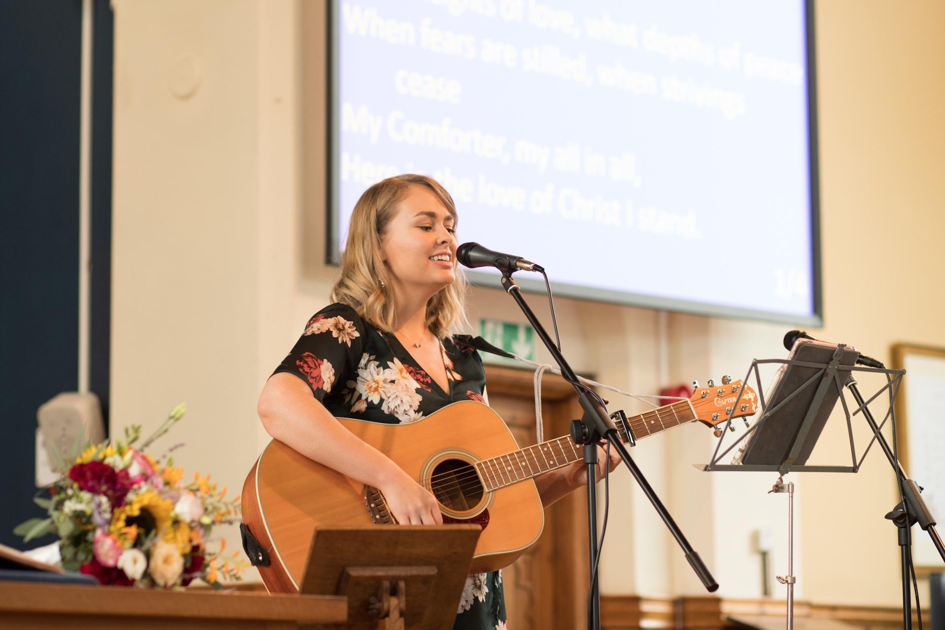 Worship in de kerk
