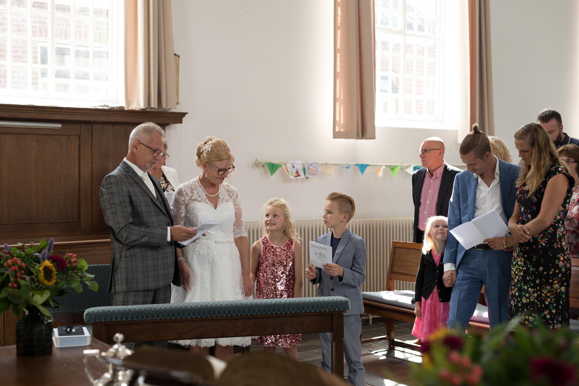 Samenzang met de kleinkinderen